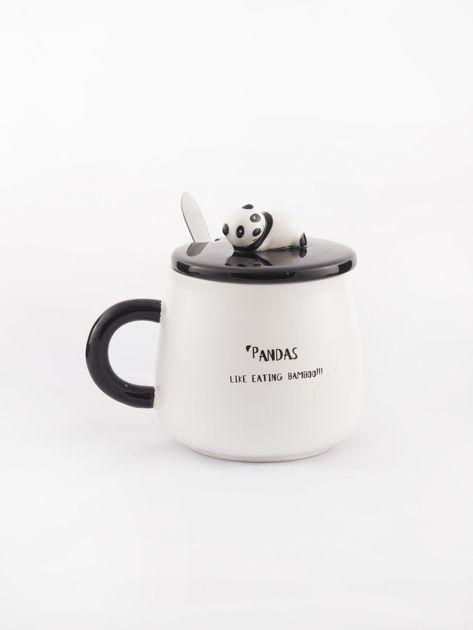 Biało-czarny kubek z pandą                              zdj.                              3