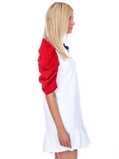 Biało-czerwony strój wróżki                              zdj.                              3