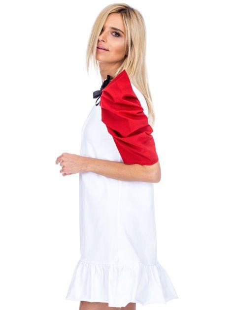 Biało-czerwony strój wróżki                              zdj.                              5