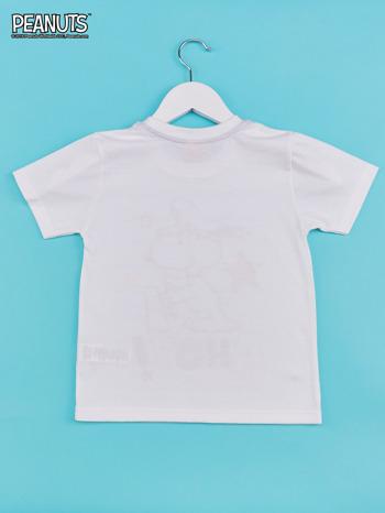Biało-niebieski t-shirt chłopięcy FISTASZKI                                  zdj.                                  2
