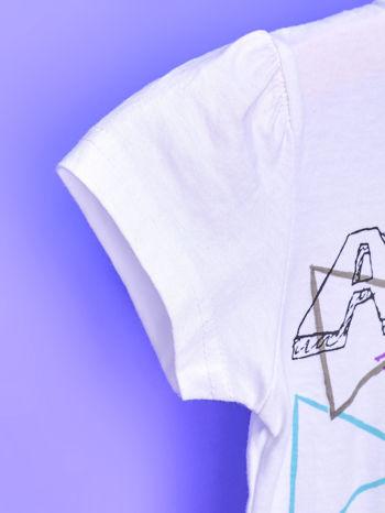 Biały chłopięcy t-shirt FURBY                                  zdj.                                  6