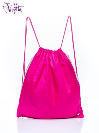 Biały plecak worek DISNEY Violetta