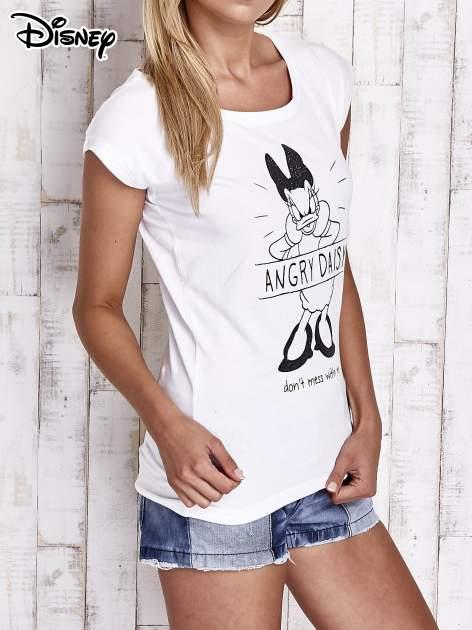 Biały t-shirt DAISY                                  zdj.                                  3
