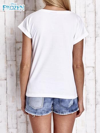Biały t-shirt FROZEN                                  zdj.                                  2