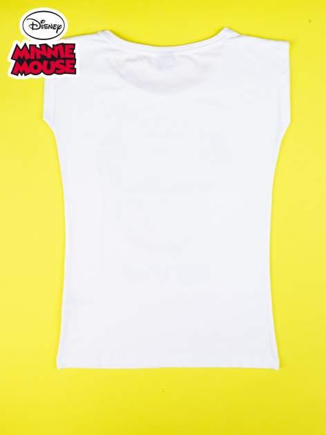 Biały t-shirt MINNIE MOUSE                                  zdj.                                  10