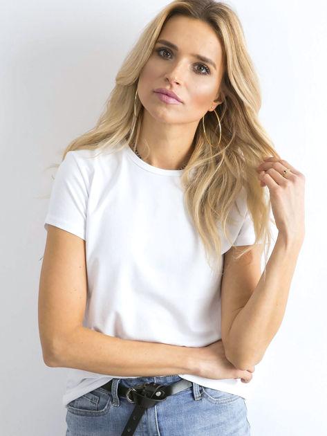Biały t-shirt Peachy                              zdj.                              1