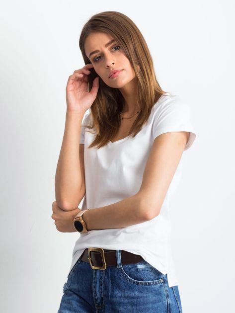 Biały t-shirt Square                              zdj.                              3