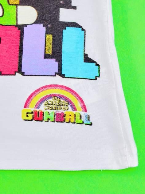Biały t-shirt chłopięcy GUMBALL                                  zdj.                                  5