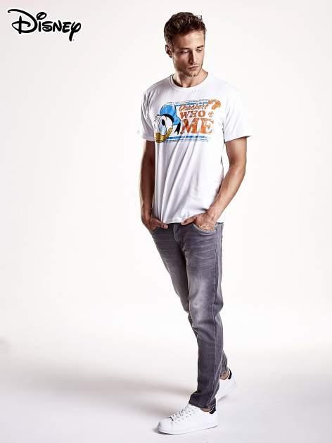 Biały t-shirt męski KACZOR DONALD                                  zdj.                                  5