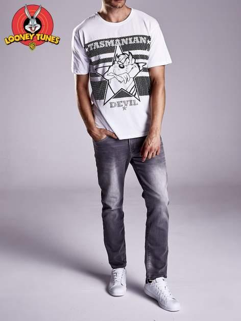 Biały t-shirt męski LOONEY TUNES                                  zdj.                                  9