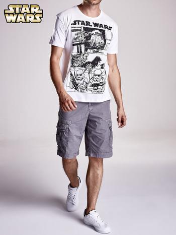 Biały t-shirt męski STAR WARS                                  zdj.                                  9