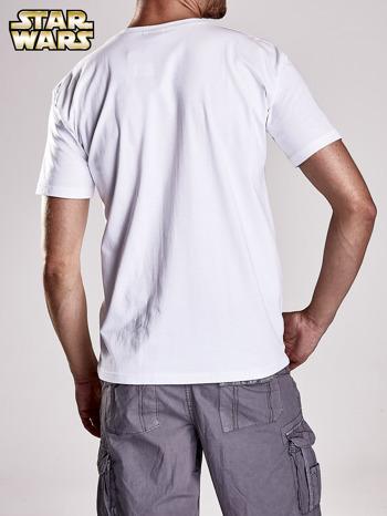 Biały t-shirt męski STAR WARS                                  zdj.                                  6