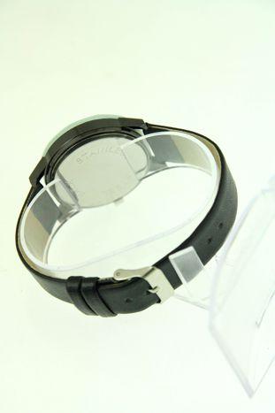 Biały zegarek damski z cyrkoniami na pasku                                  zdj.                                  3