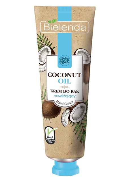 Bielenda Coconut Oil Krem do rąk nawilżający 50 ml