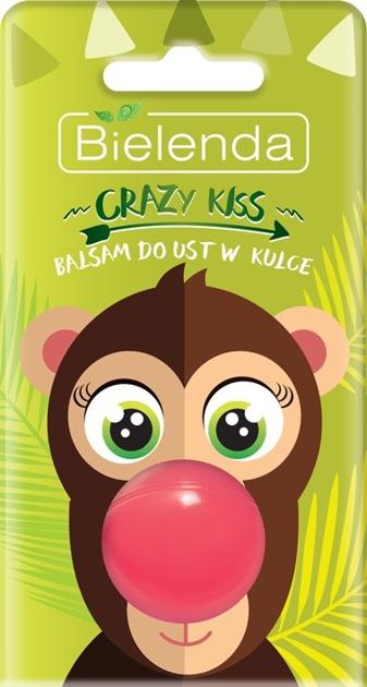 Bielenda Crazy Kiss Balsam do ust w kulce Małpka 8.5g