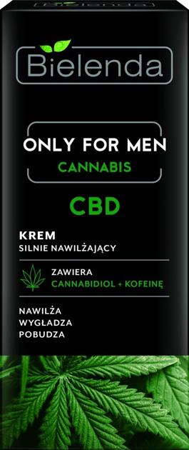 Bielenda Only for Men Cannabis CBD Krem silnie nawilżający 50 ml