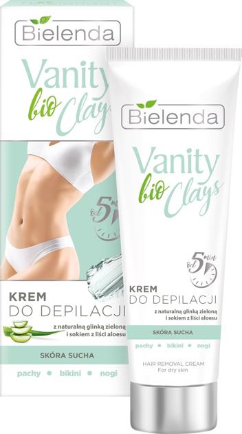 """Bielenda Vanity bio Clays Krem do depilacji z zieloną glinką - skóra sucha  100ml"""""""
