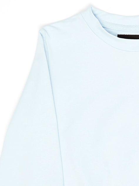 Błękitna bluza młodzieżowa                              zdj.                              3