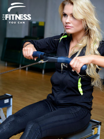 Bluza For Fitness z kapturem                                  zdj.                                  1