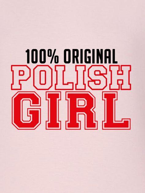 Bluza damska 100% ORIGINAL POLISH GIRL różowa                                  zdj.                                  2