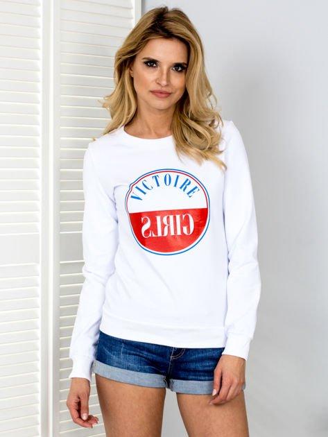 Bluza damska VICTOIRE GIRLS biała                              zdj.                              1