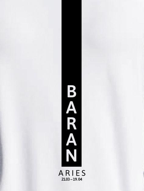 Bluza damska znak zodiaku BARAN jasnoszara                                  zdj.                                  2