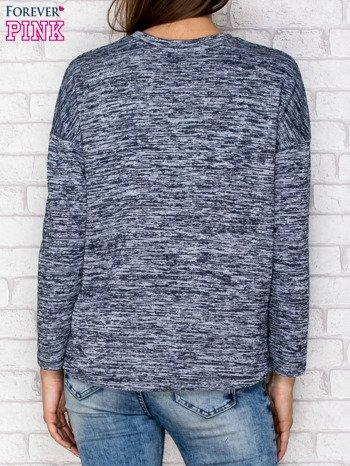 Bluza z kieszenią granatowa