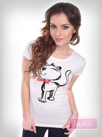 Bluzka z kotem