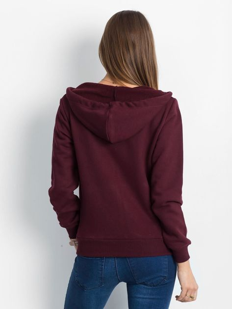 Bordowa bluza Warmth                              zdj.                              2