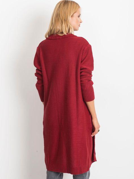 Bordowy sweter Destiny                              zdj.                              2