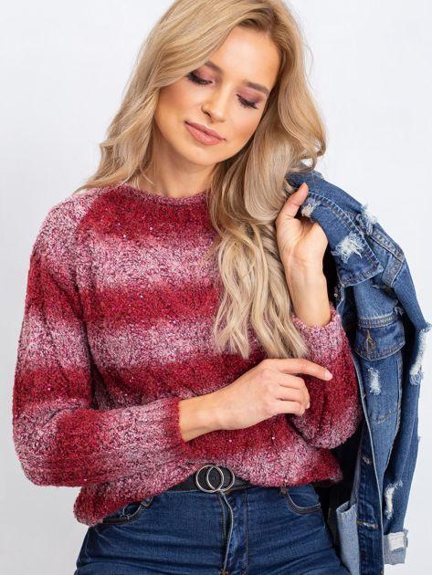 Bordowy sweter Shantelle                              zdj.                              1