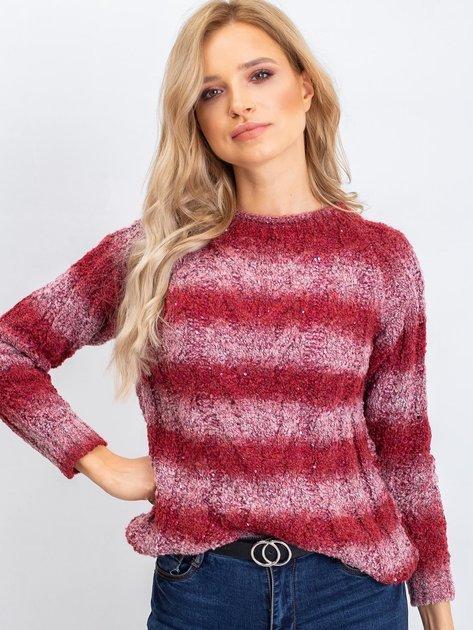 Bordowy sweter Shantelle                              zdj.                              5
