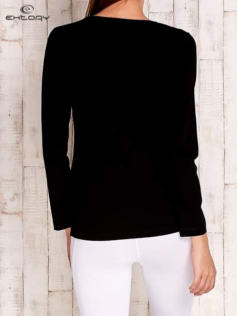 Brązowa bluzka sportowa basic PLUS SIZE                                  zdj.                                  4