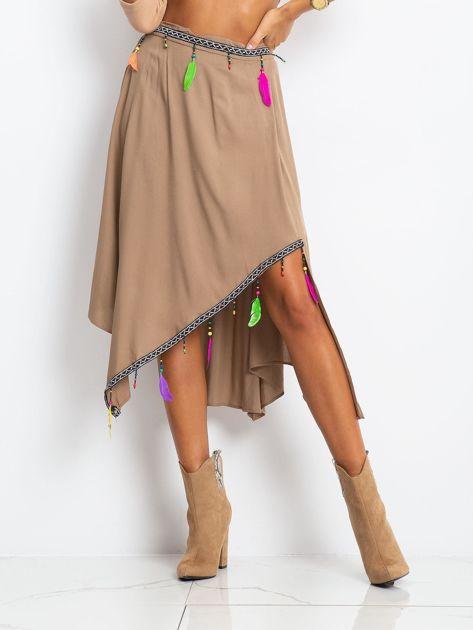 Brązowa spódnica AMAZON                              zdj.                              1