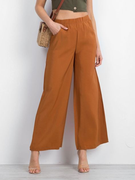 Brązowe spodnie Boundries