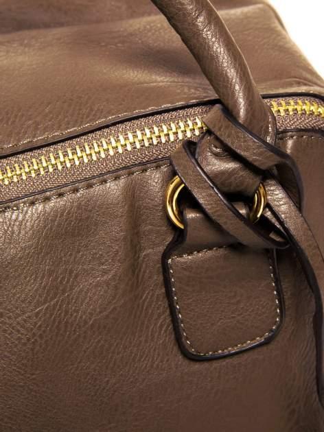 Brązowy miękki kuferek                                  zdj.                                  9