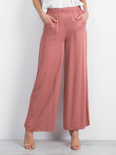 Brudnoróżowe spodnie Boundless