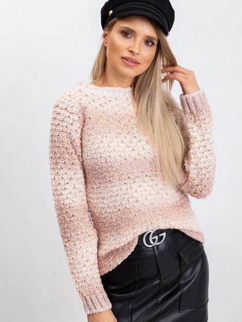 Brudnoróżowy sweter Agatha                              zdj.                              1