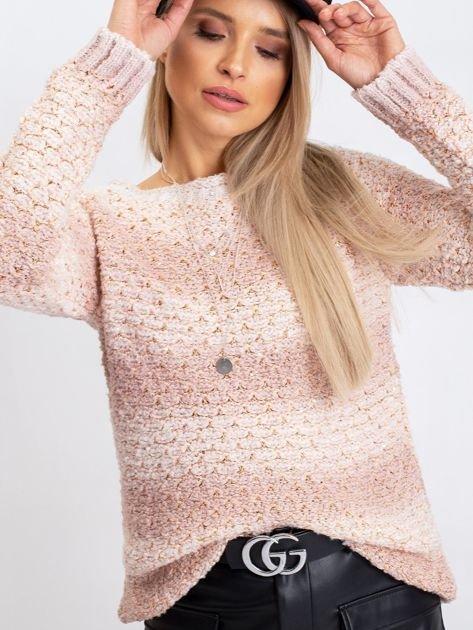 Brudnoróżowy sweter Agatha                              zdj.                              5