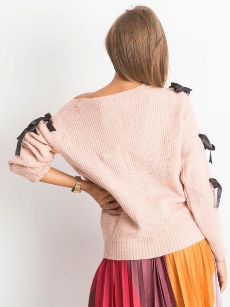 Brudnoróżowy sweter Hailee                              zdj.                              2