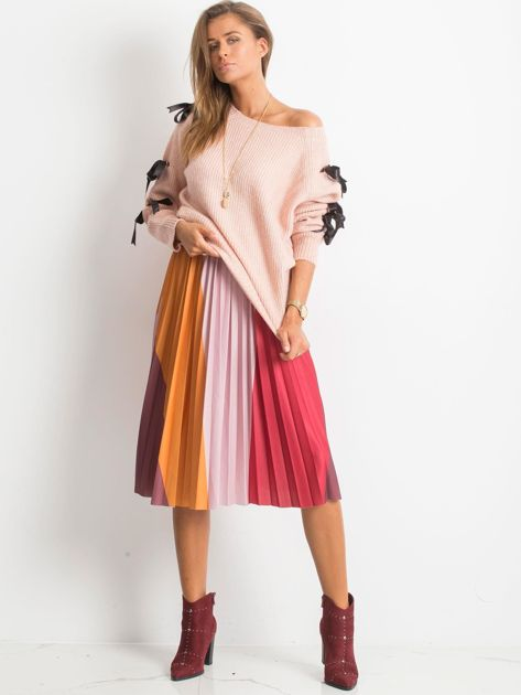 Brudnoróżowy sweter Hailee                              zdj.                              4
