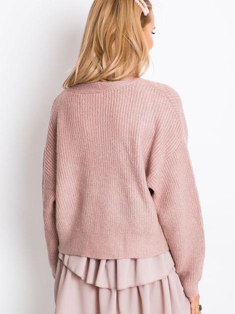 Brudnoróżowy sweter North                              zdj.                              2