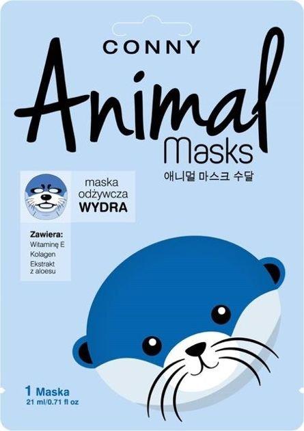 CONNY Animal Mask WYDRA odżywcza w płachcie                              zdj.                              1