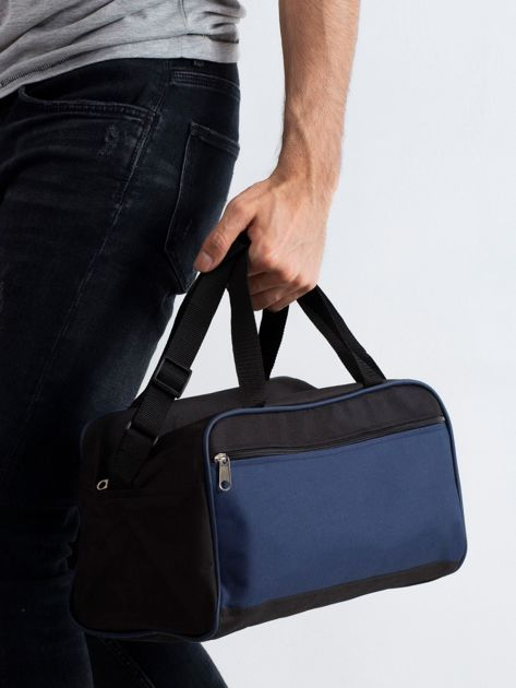 Ciemnoniebieska męska torba na ramię                              zdj.                              1