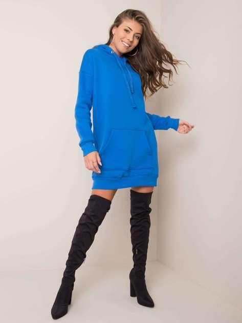 Ciemnoniebieska sukienka Vittoria RUE PARIS