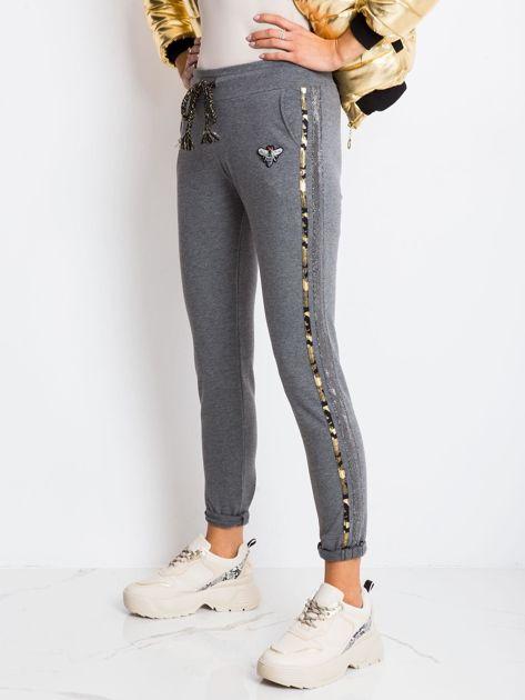 Ciemnoszare spodnie Affair