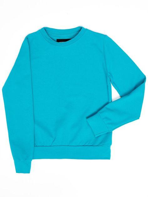 Ciemnozielona bluza młodzieżowa                              zdj.                              1