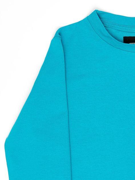 Ciemnozielona bluza młodzieżowa                              zdj.                              3