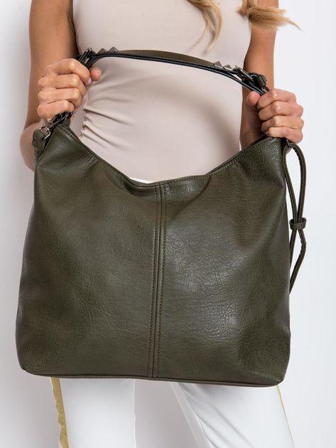Ciemnozielona torba damska                              zdj.                              2