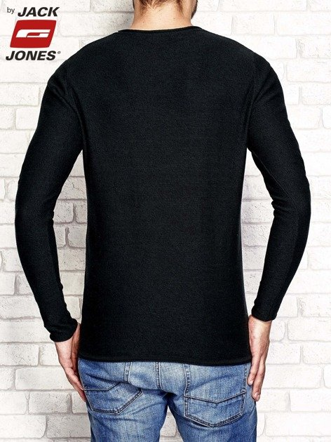 Ciemnozielony sweter męski basic